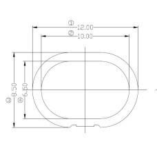 VL53L1X Coverglass