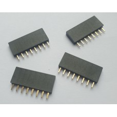 HF6pin-2.54mm-x4 header Female 6 pin 2.54mm x4